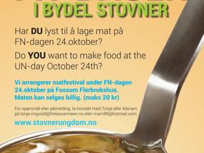 FN-Dagen i Bydel Stovner - Matfestival