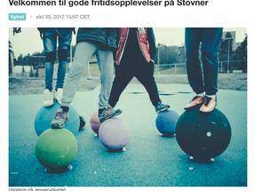 Oversikt over tilbud for barn og ungdom i Bydel Stovner