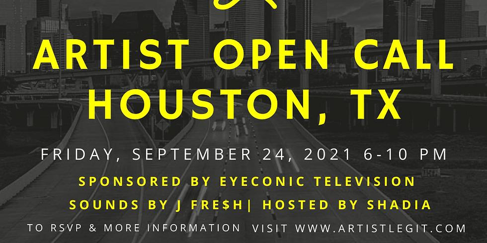 Artist Open Call: Houston