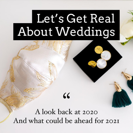 Let's Get Real About Weddings