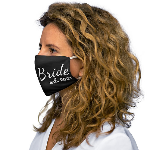 Black Bride 2021 Face Mask