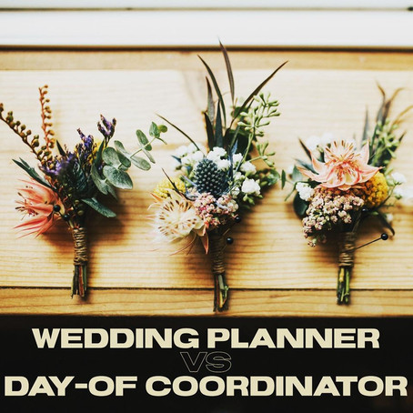 Wedding Planner vs Day-Of Coordinator