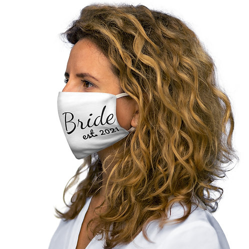 White Bride 2021 Face Mask