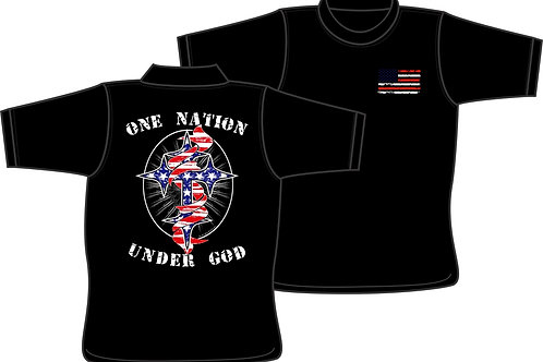 One Nation Under God -  T-Shirt