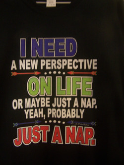 I Need a New Perspective on Life