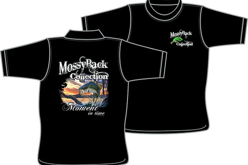 MossyBack Collection Bass Fishing  - T-Shirt