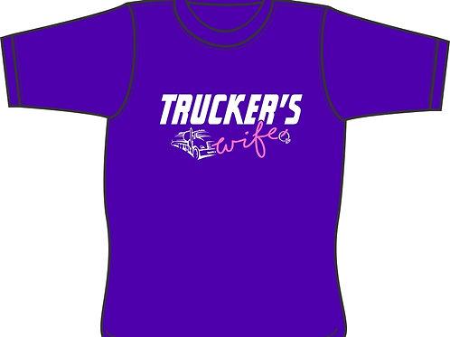 Trucker's Wife - T-shirt