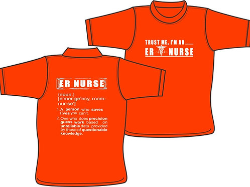 ER Nurse Precision Guess Work - T-Shirt