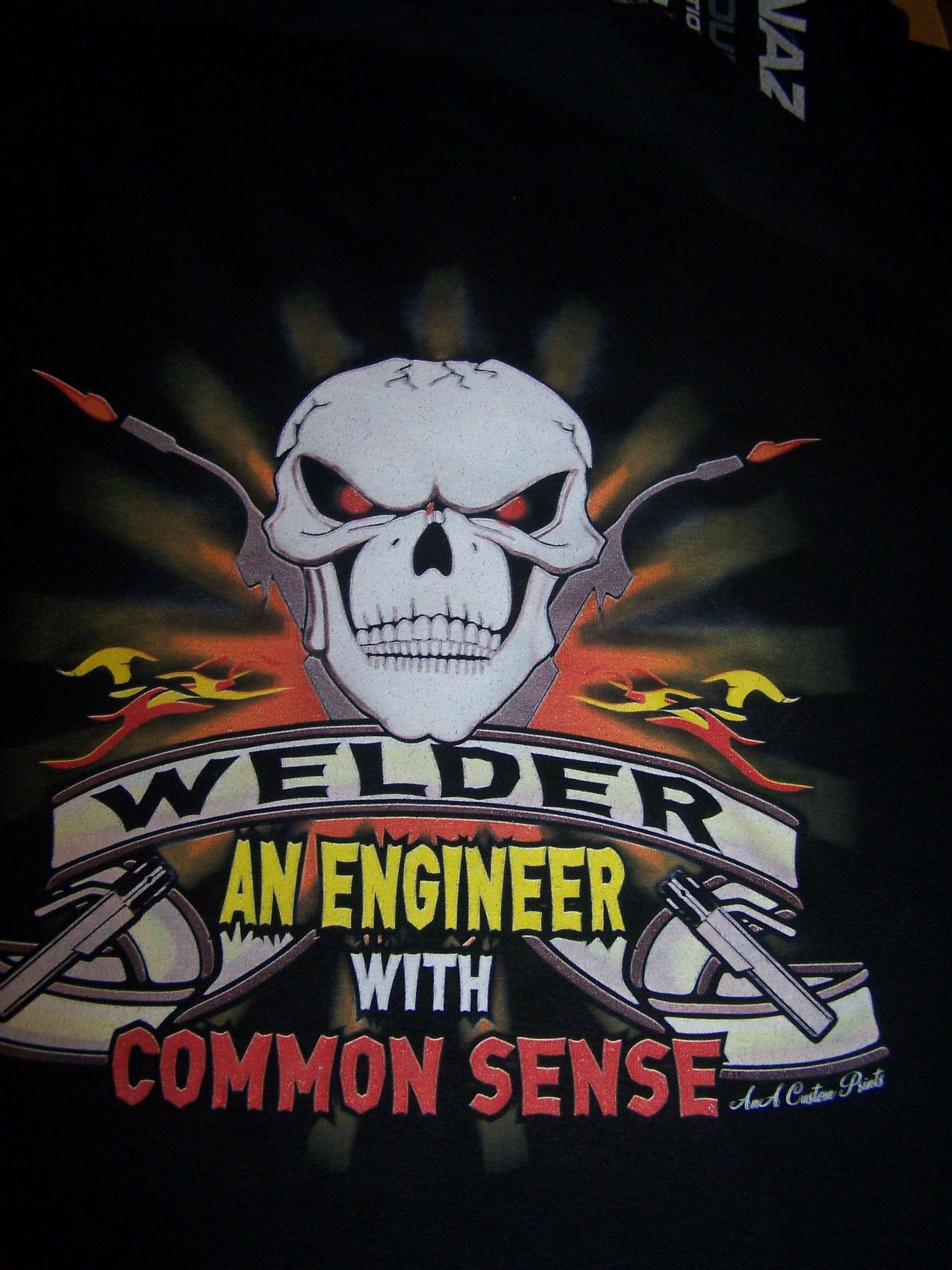 Welder an Engineer with Common Sense