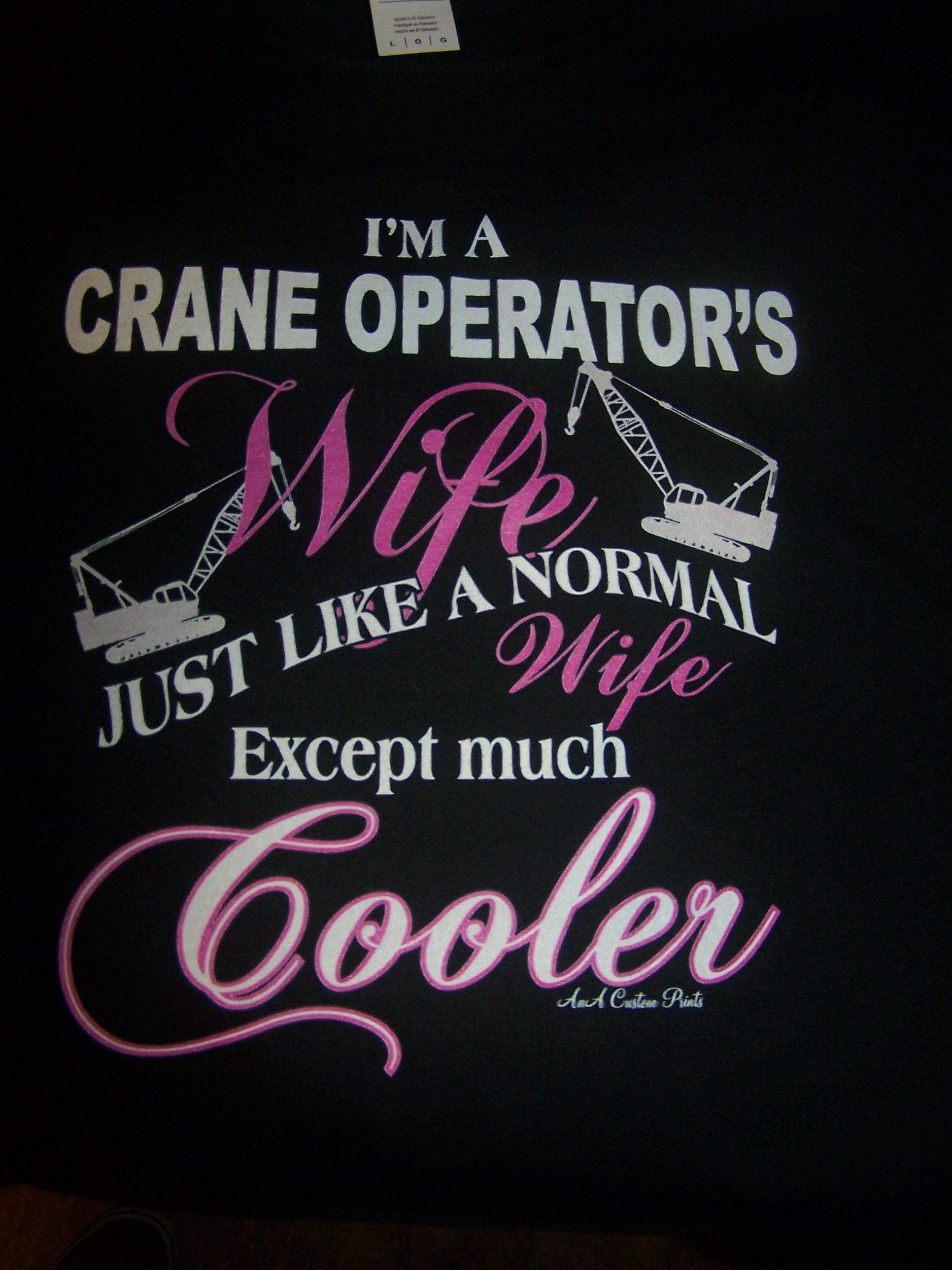 Crane Operator's Wife