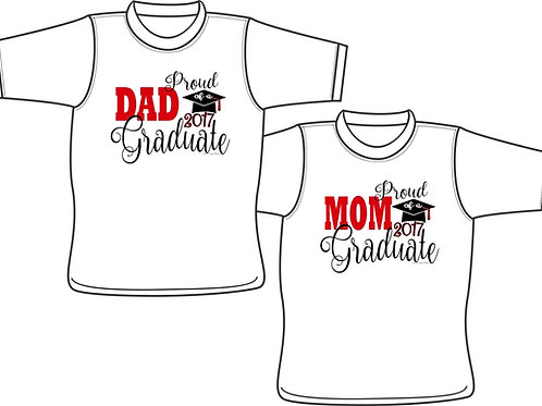 Proud Parent of a Graduate - T-shirt