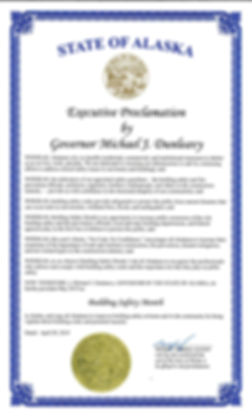 2019 Building Safety Month Proclamation.