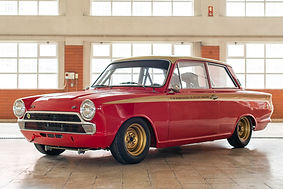 Ford Lotus Cortina Alan Mann Evocation