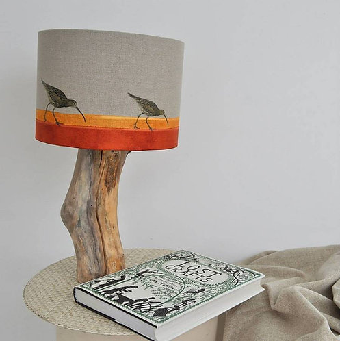 Curlew on the Shore Lampshade and Base