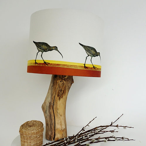 Curlew on the Shore Lampshade