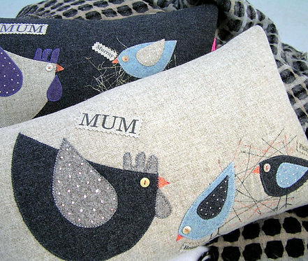 Cushion for a Mother of Two