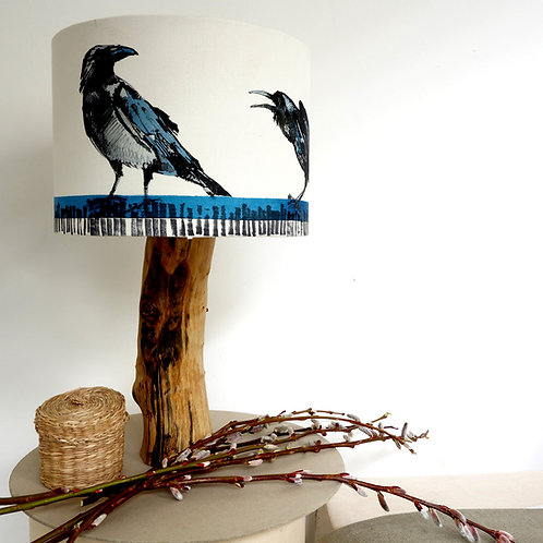 Crow Lampshade