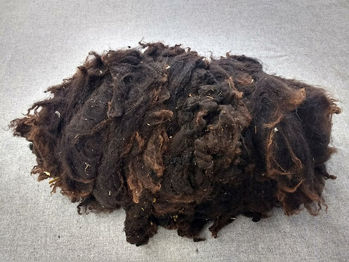 Chocolate Shetland Fleece