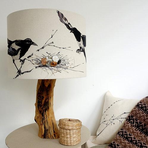 Magpie  Lampshade