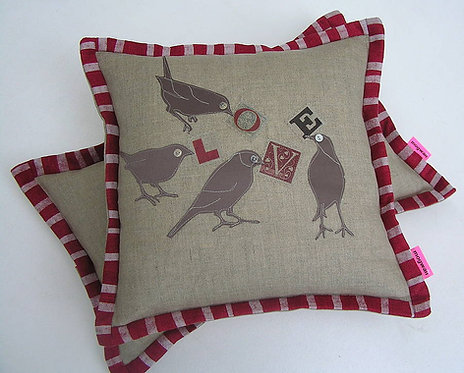 Candy Love Bird Cushion