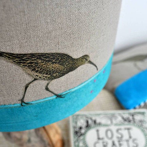 Curlew Linen Lampshade