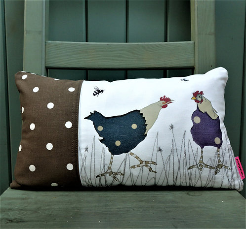 The pecking order cushion