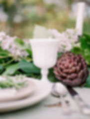 Franciscan Gardens spring pastel floral centerpiece with peonies anemonies, dahlias, and more