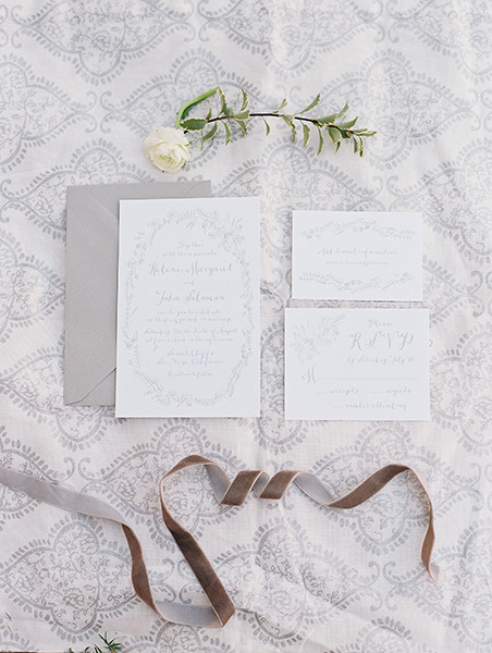 Invitation Suite: Charley Paper Company