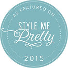 featured on Style Me Pretty 2015