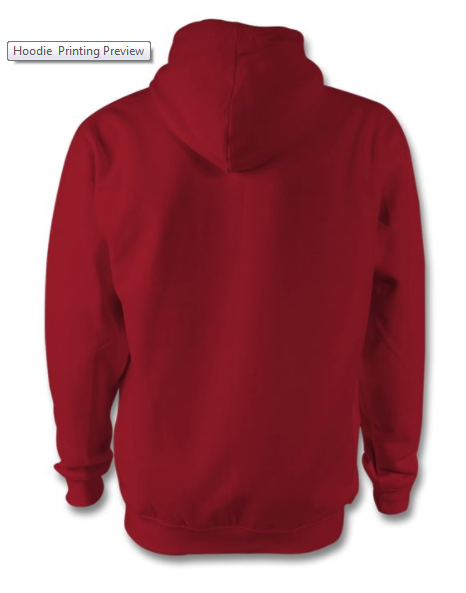 ee41f51ba Clever and smart: This chilli coloured hoodie is a sporty set-up of the  classic preppy style. Authentic and easily combined with any other gear, ...