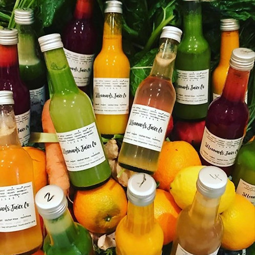 3 day Juice Cleanse Plan