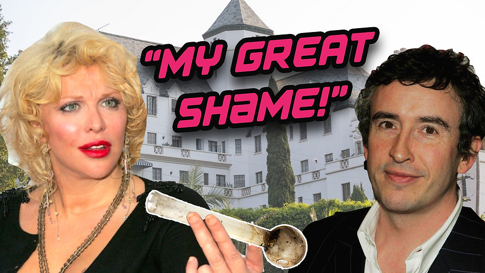 courtney love steve coogan fling shame