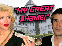 Celebrating Courtney Love's Steve Coogan and crack shame