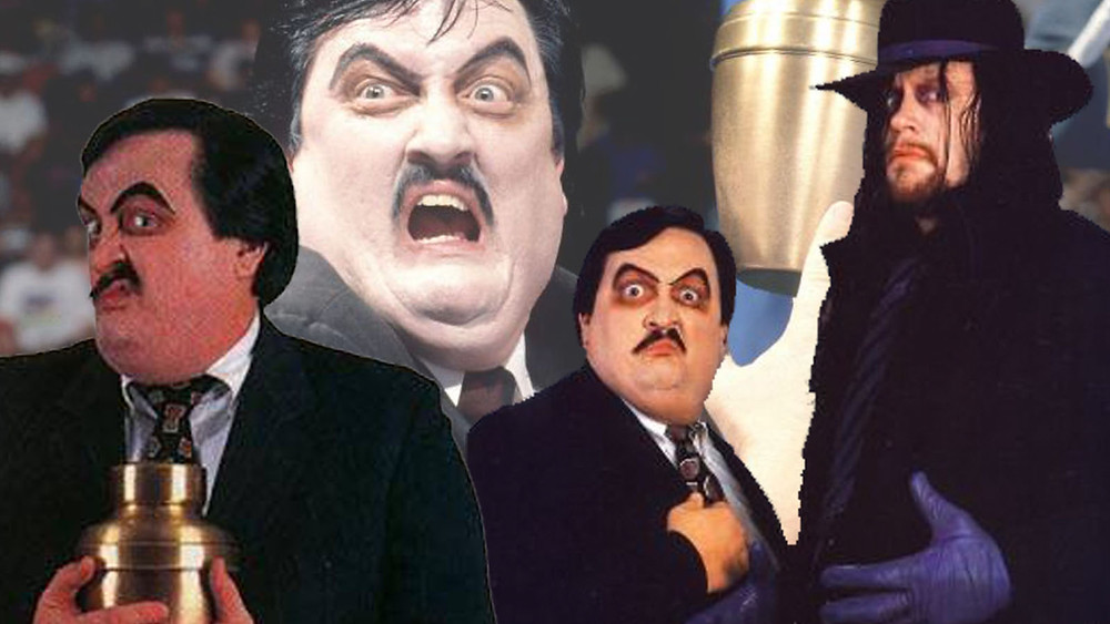 Paul Bearer was hands down the best character on WWE
