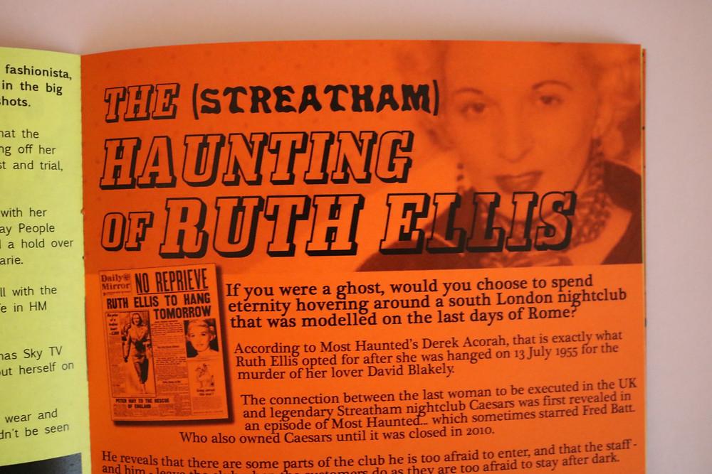 Ruth Ellis Streatham Derek Acorah Most Haunted