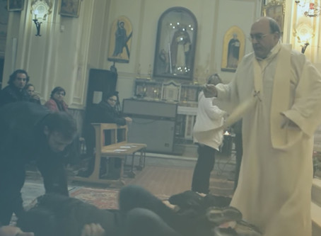 'superstar' priest, 83, performs exorcisms in chilling documentary