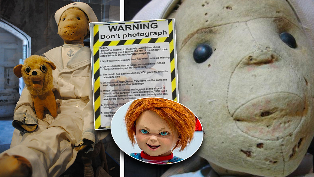 Robert the Doll is the original Chucky... you've been warned!