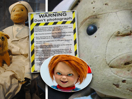 Robert the Doll: The real life Chucky locked in a glass case