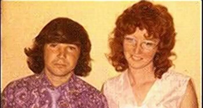 Katherine Knight with her first husband, David Kellett