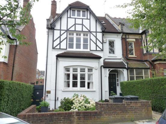 The exterior of 23 Cranley Gardens - Dennis killed three men in the top floor flat
