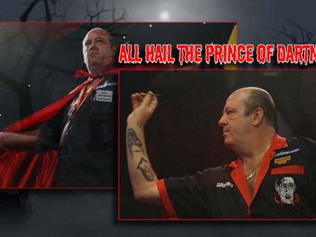 A celebration of Ted Hankey AKA darts' dracula