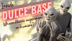 """Commander X: """"Dulce Base's Nightmare Hall is where aliens perform sick experiments on humans!"""""""
