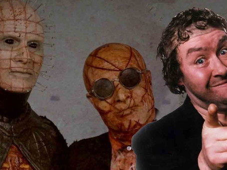 Hellraiser Judgment: Rab. C. Nesbitt the Cenobite and paper pushers from hell