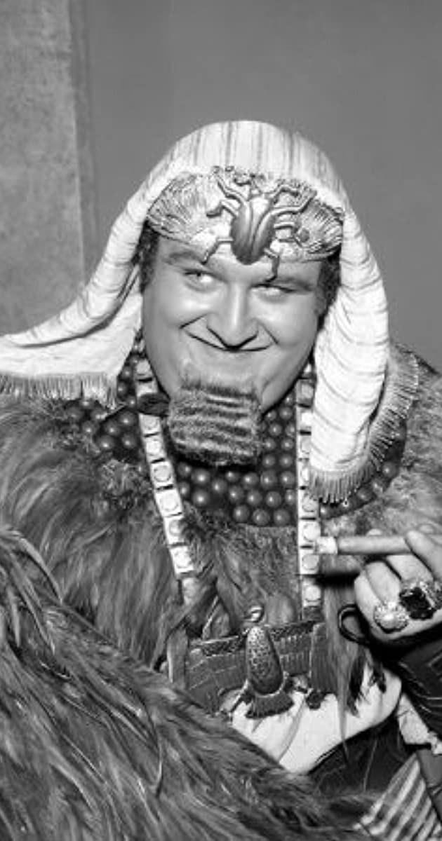 Buono as King Tut, one of 1960's Batman's enemies