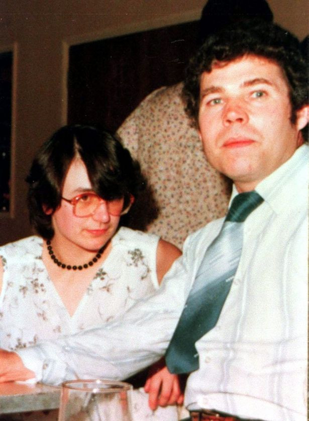 Rose pictured with husband Fred West