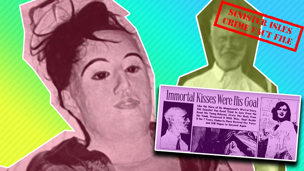 Carl Tanzler shacked up with the mummified remains of one of his patients