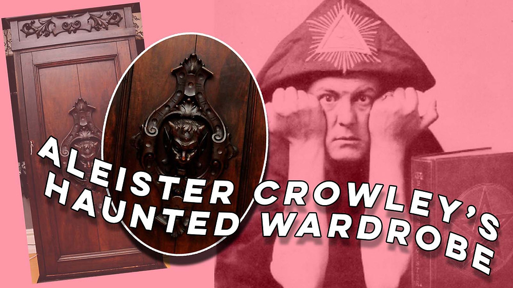 The mysterious old wardrobe might have been carved by the famous Occultist