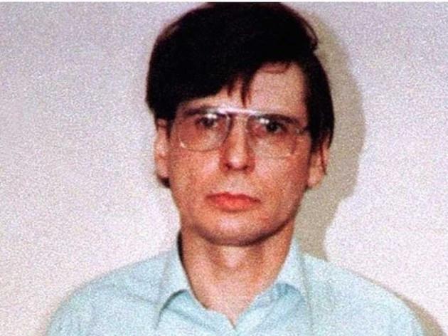 Dennis Nilsen in a pair of 'big specs'