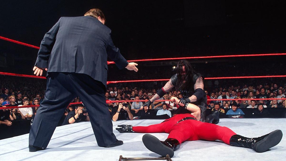 To start with Kane and The Undertaker were mortal enemies