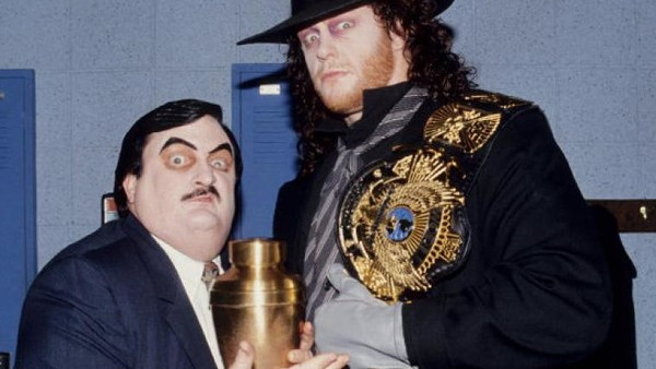 Paul Bearer and The Undertaker were always up to something a bit dodgy